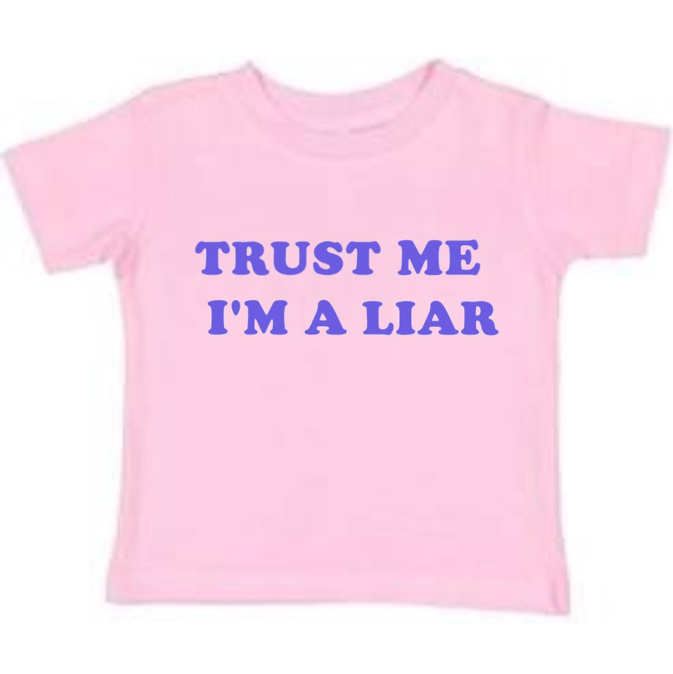 """Product Image 1 - 💓screen printed baby tee """"trust"""