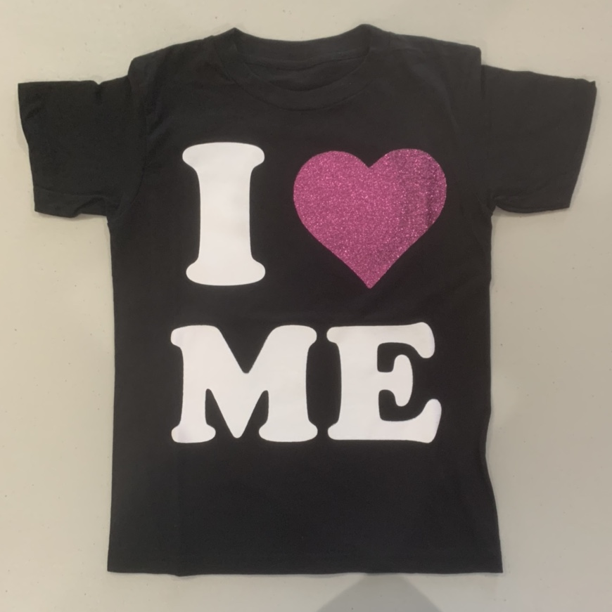 """Product Image 1 - 💓screen printed baby tee """"I"""