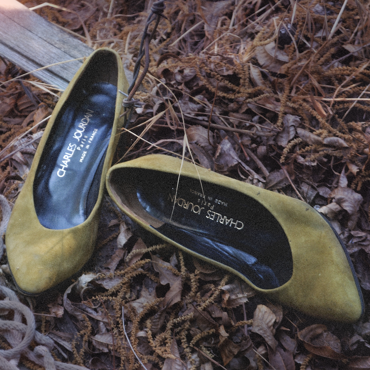 Product Image 1 - VINTAGE SUEDE PUMPS  From French designer,