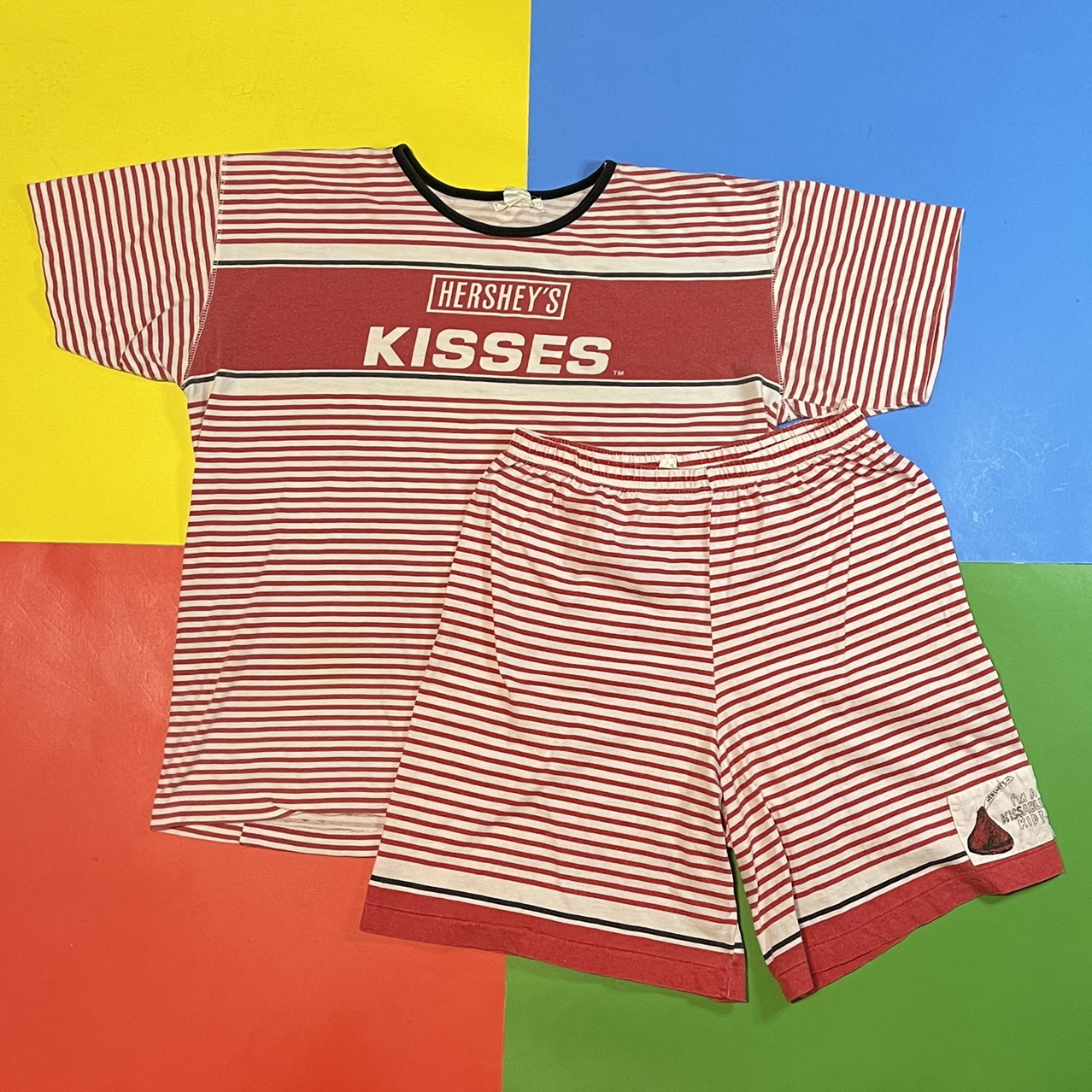 Product Image 1 - Vintage 80's Hershey's Kisses shorts