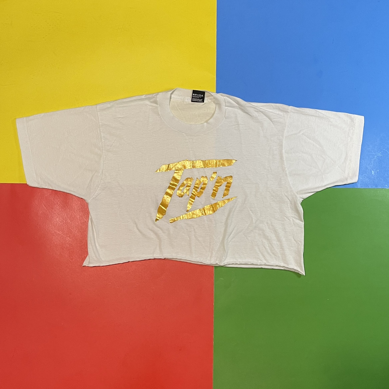 Product Image 1 - Vintage cropped 90's tee. White