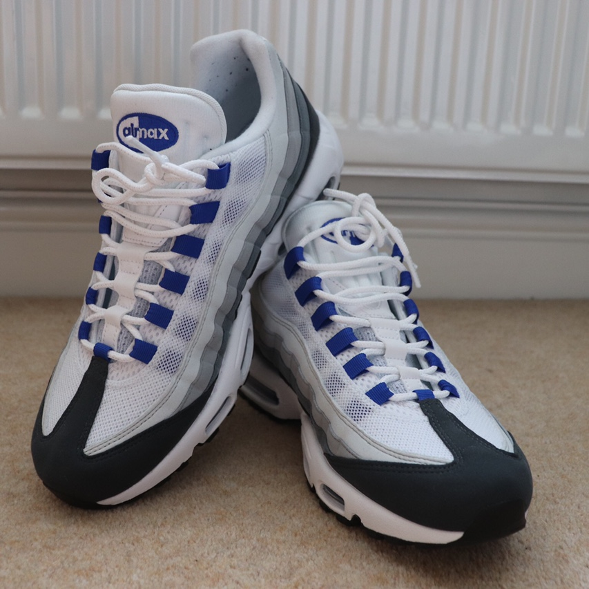 Nike Air Max 95 SC Only worn once, perfect... - Depop