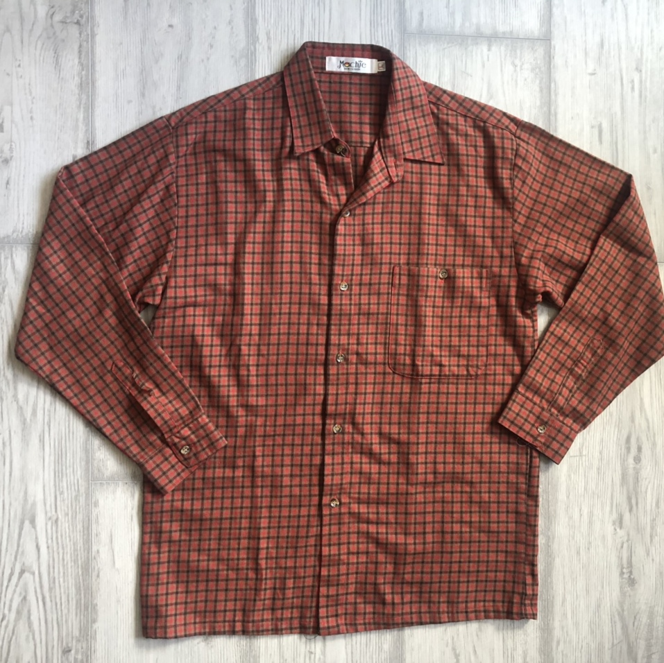 Product Image 1 - Red plaid men's button up