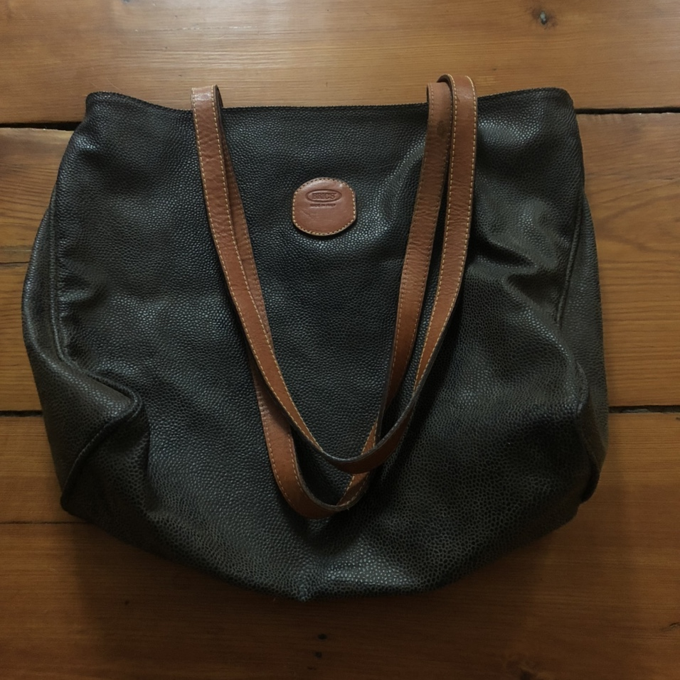 Product Image 1 - brics leather tote bag purse excellent