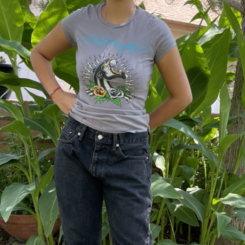 Product Image 1 - Ed Hardy Top 💀   Gray