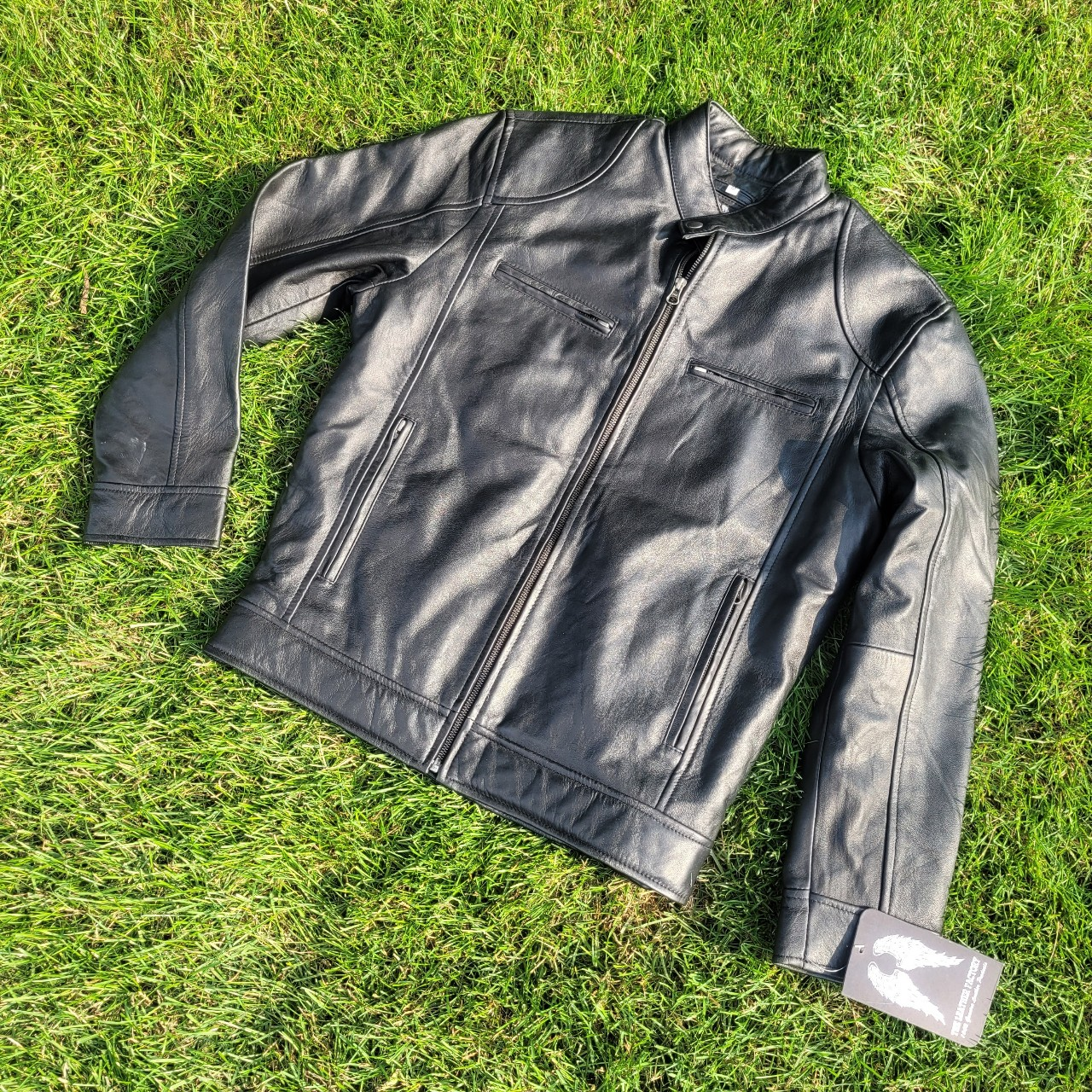 Product Image 1 - The Leather Factory Cafe Racer