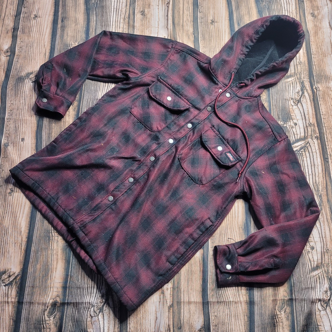Product Image 1 - Dickies Insulated Flannel Jacket Sized Medium
