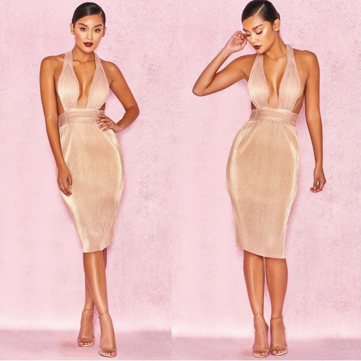 Product Image 1 - House of CB gold dress