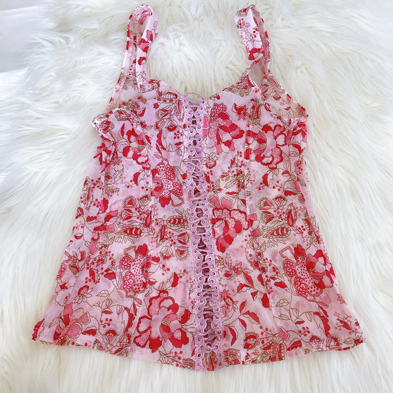 Product Image 1 - Vintage Arianne Hibiscus Cami Tank