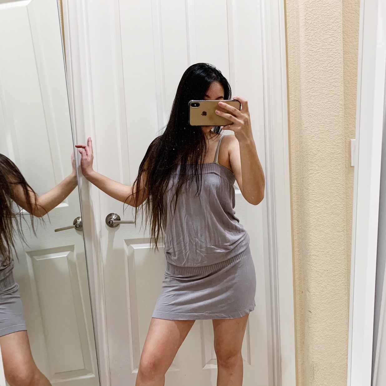 Product Image 1 - Grey loose cami dress with