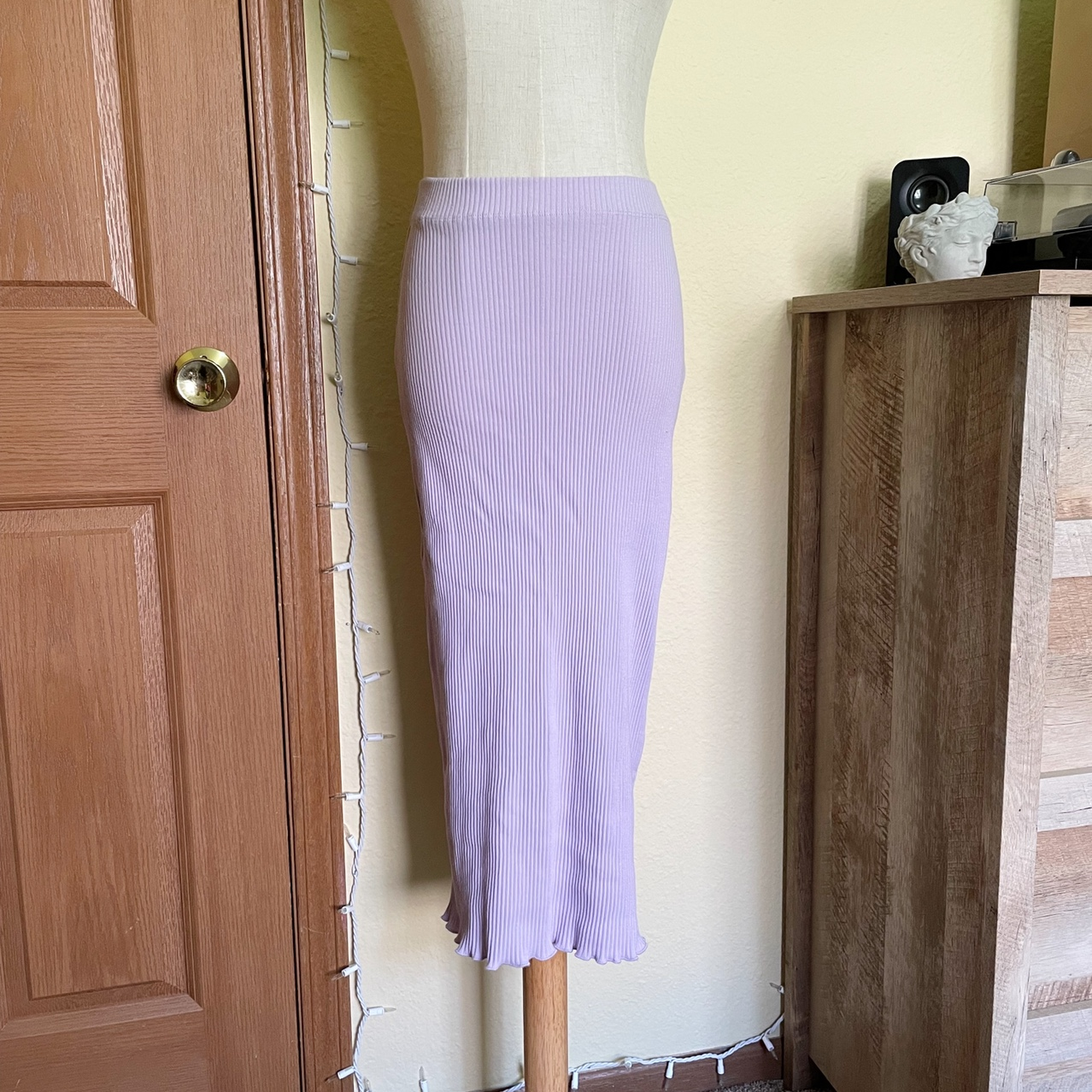 Product Image 1 - Urban Outfitters Lavender Midi Skirt