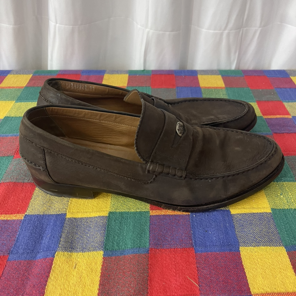 Product Image 1 - Genuine Gucci Brown Leather Loafers
