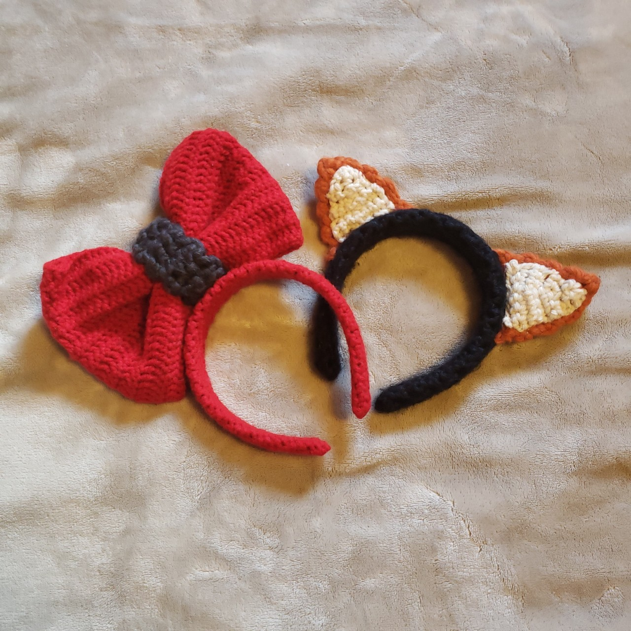 Product Image 1 - CROCHET HEADBANDS  🔆 Giant red bow
