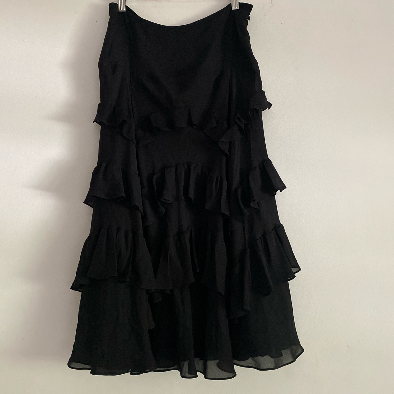 Product Image 1 - Vintage INC silk ruffle tiered