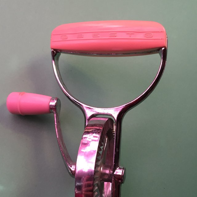 Pink Hand Mixer ~ Authentic s pink hand mixer beater from dita