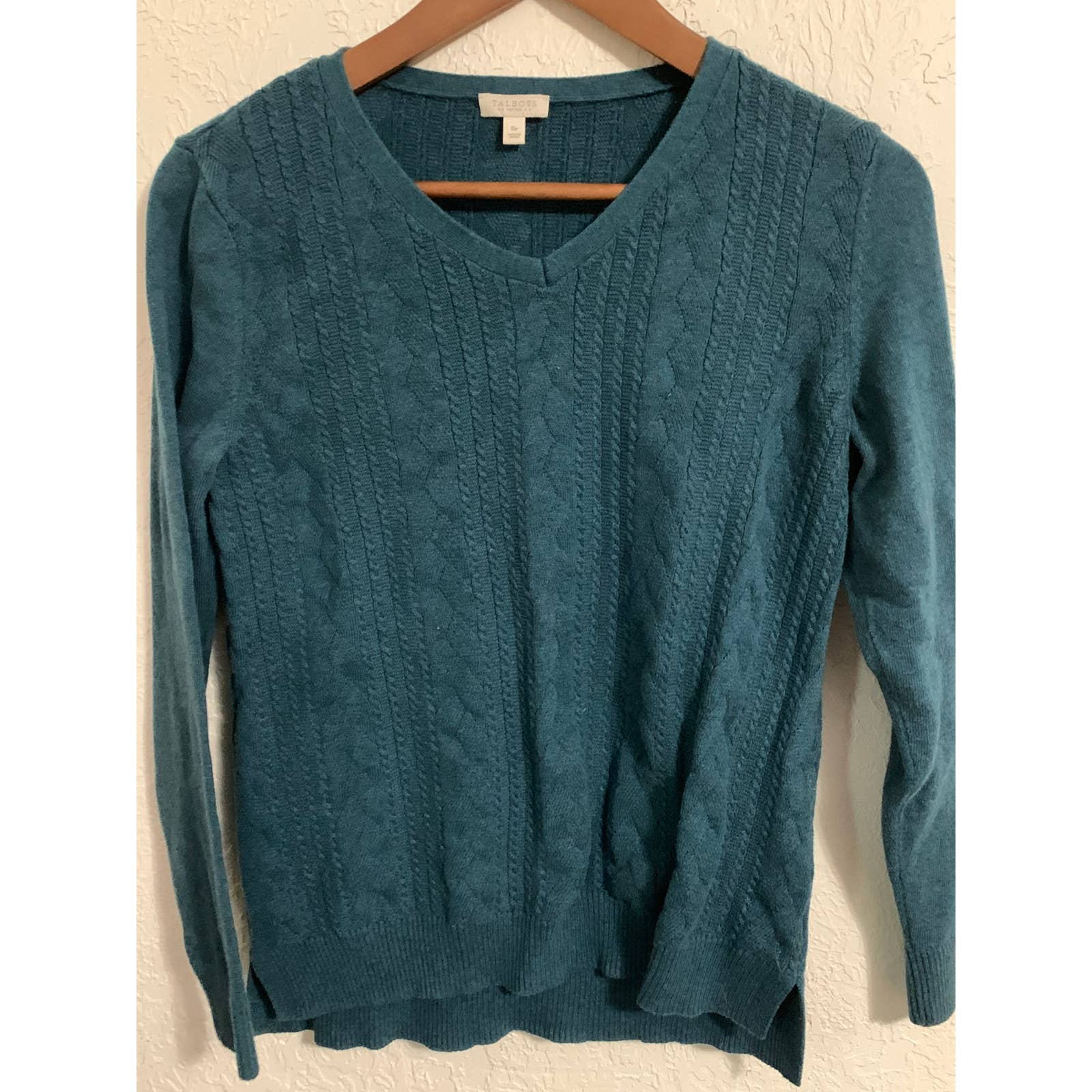 Product Image 1 - Talbots blue cable knit sweater