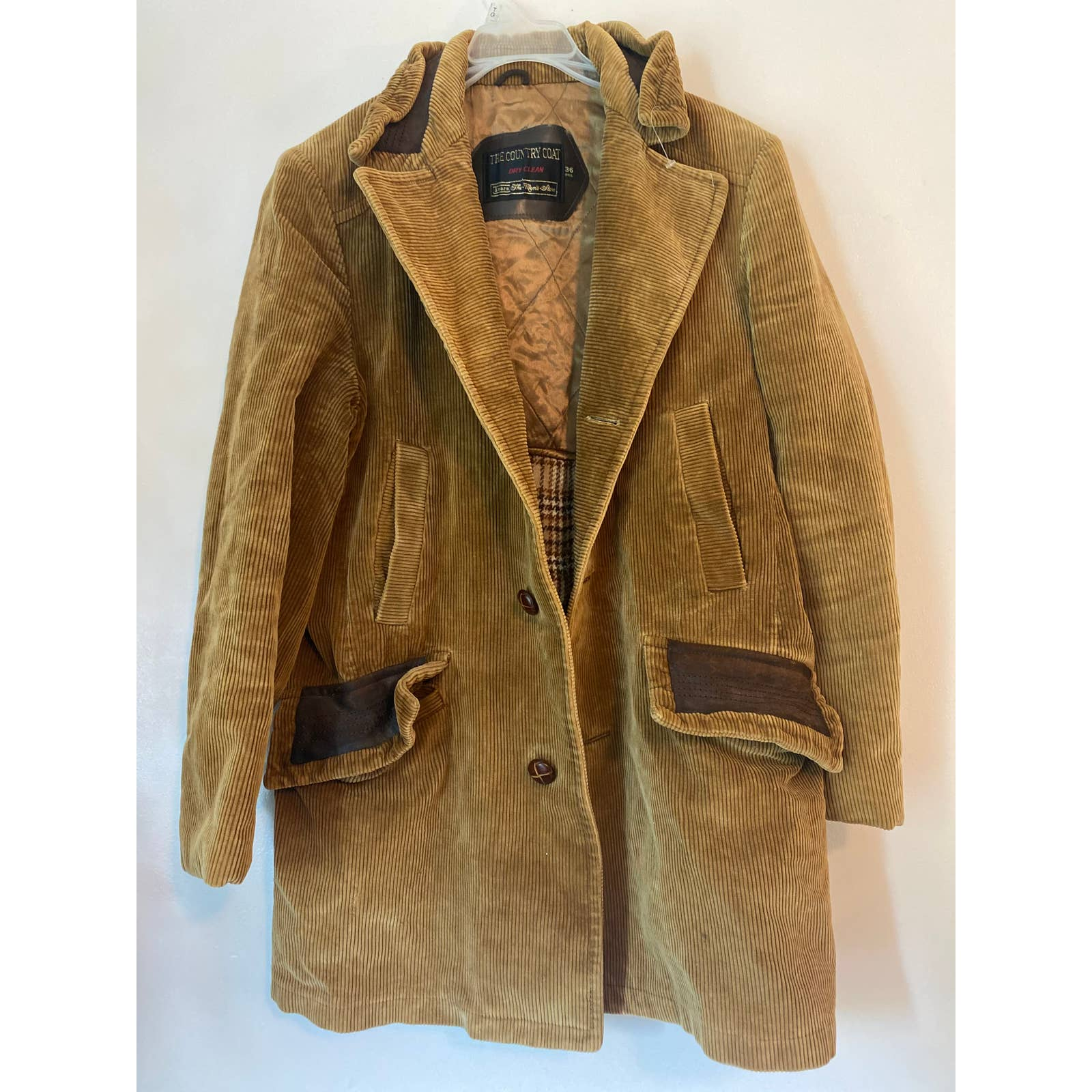 Product Image 1 - Mens fitted corduroy coat  Made