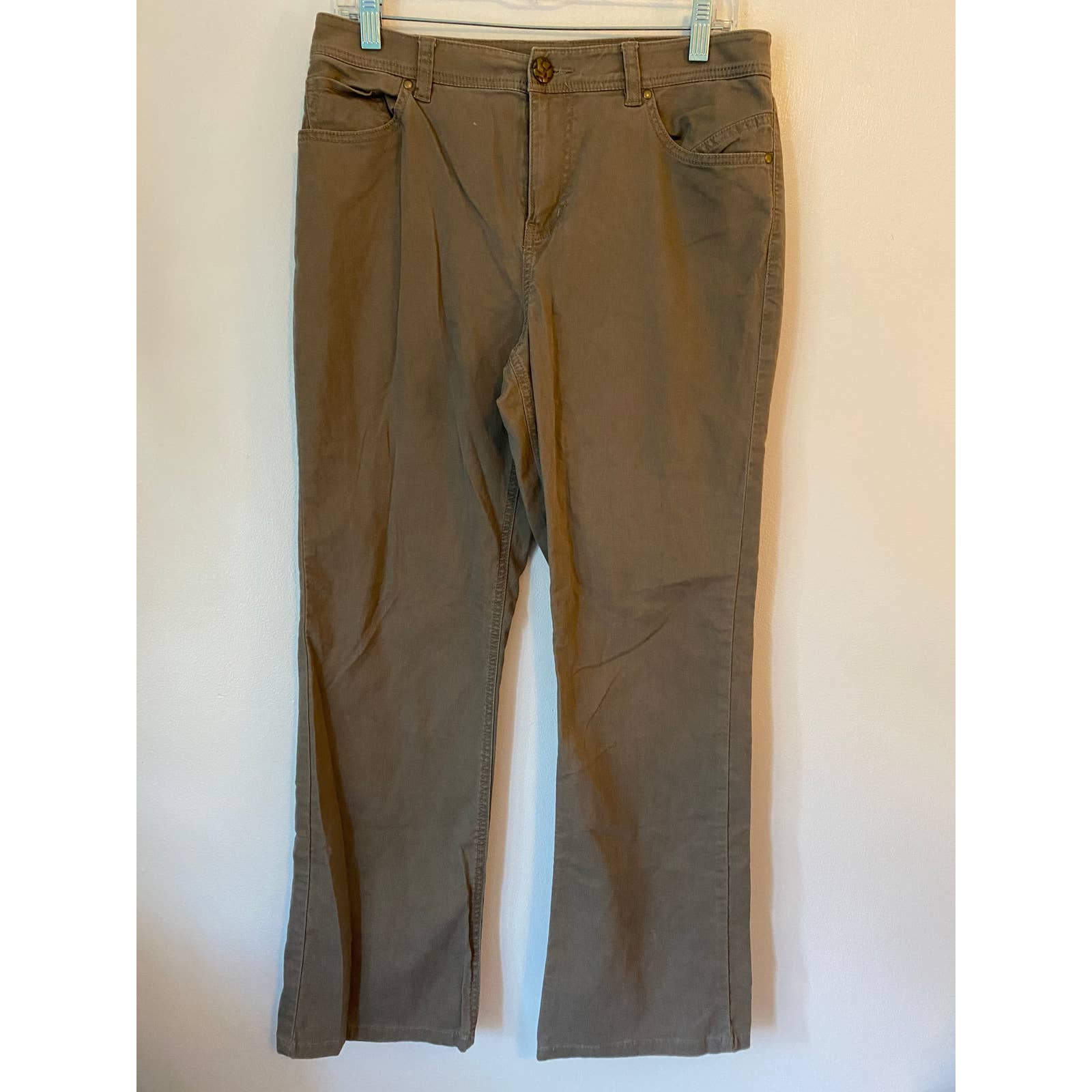 Product Image 1 - TRIBAL bootcut jean brown pants