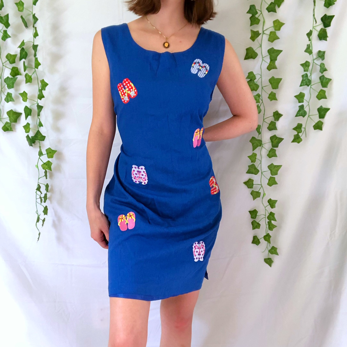 Product Image 1 - Vintage 80s beachy patterned dress