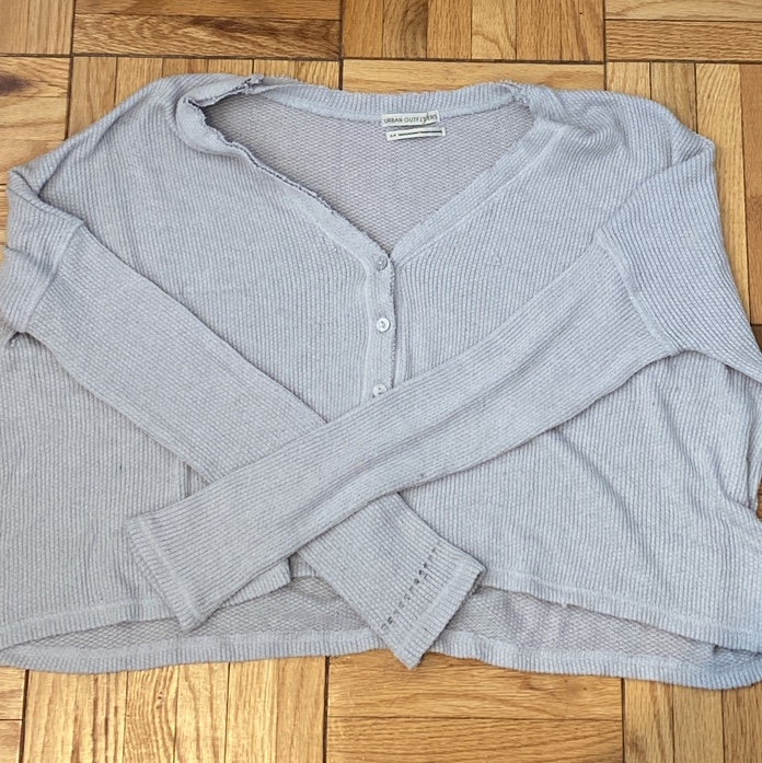 Product Image 1 - UO cropped oversized cardigan top