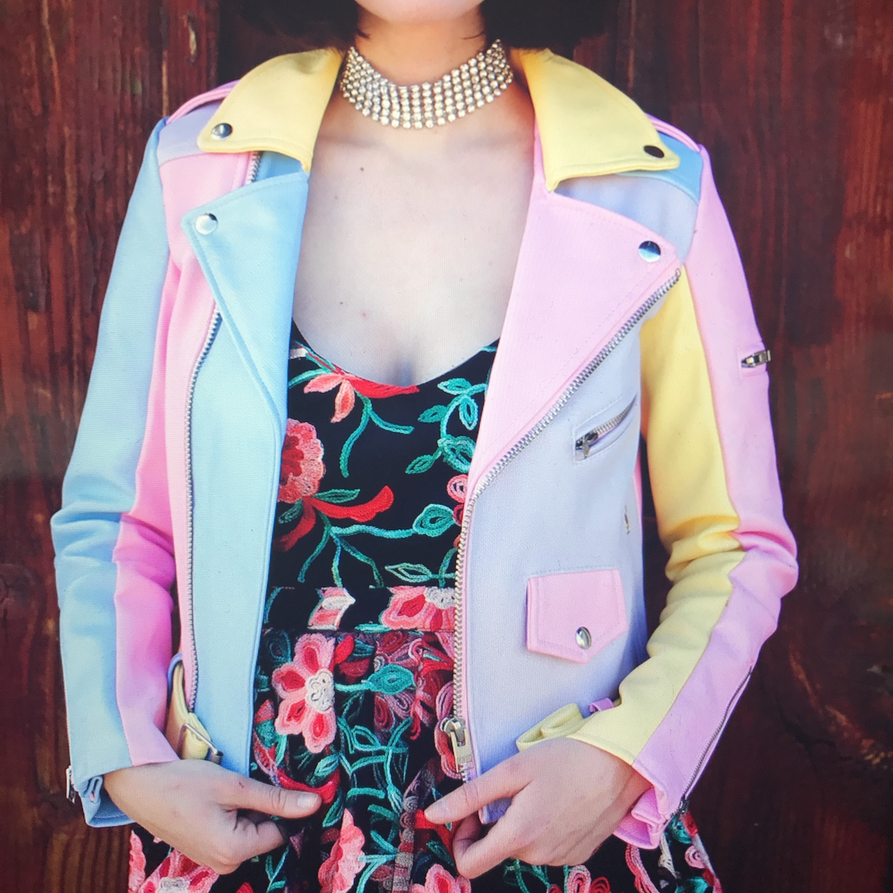 Product Image 1 - #unif faux leather colorful jacket