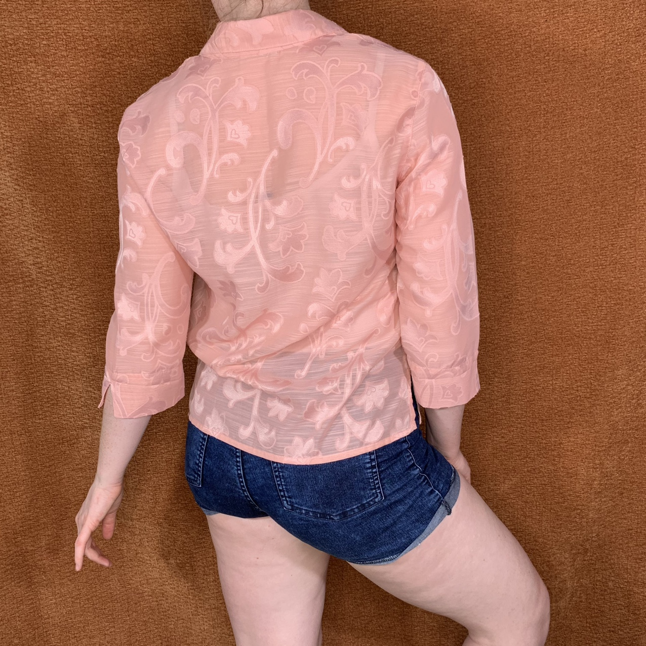 Product Image 1 - Pink Alfred Dunner floral buttonup,