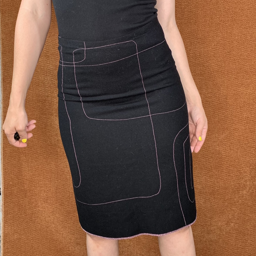 Product Image 1 - Held for @angelpuppetnyc  Stitched A-line skirt,