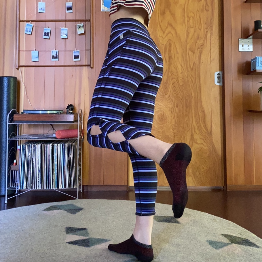 Product Image 1 - Free People Movement striped leggings  never