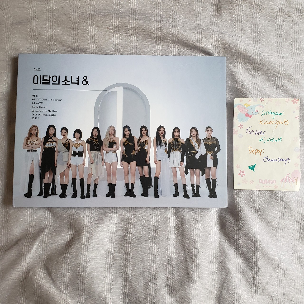 Product Image 1 - LOONA & [and] album (b