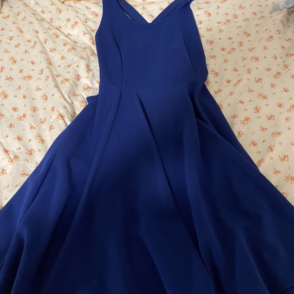 Product Image 1 - shein blue dress size small never used! #shein