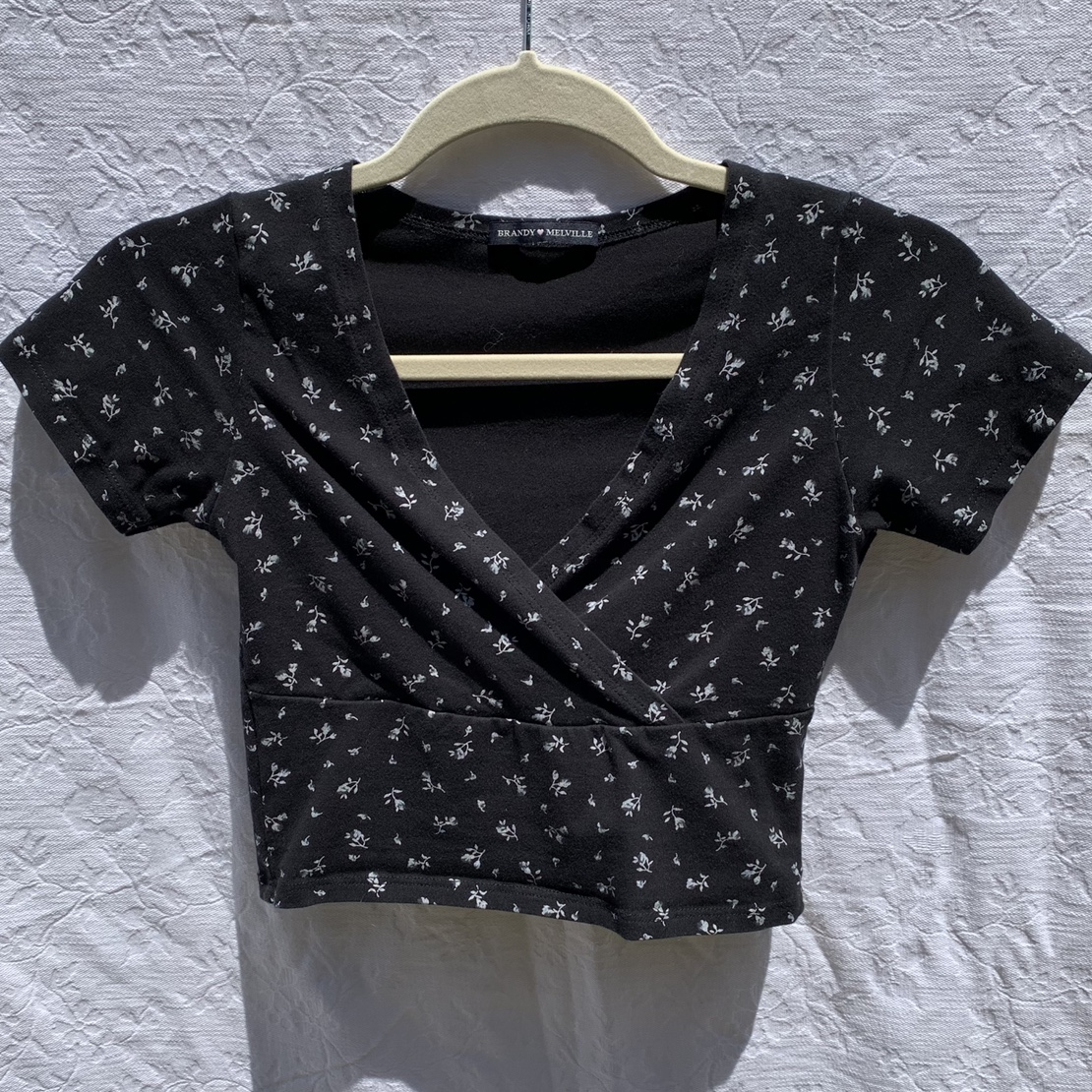 Product Image 1 - Brandy Melville wrap floral top