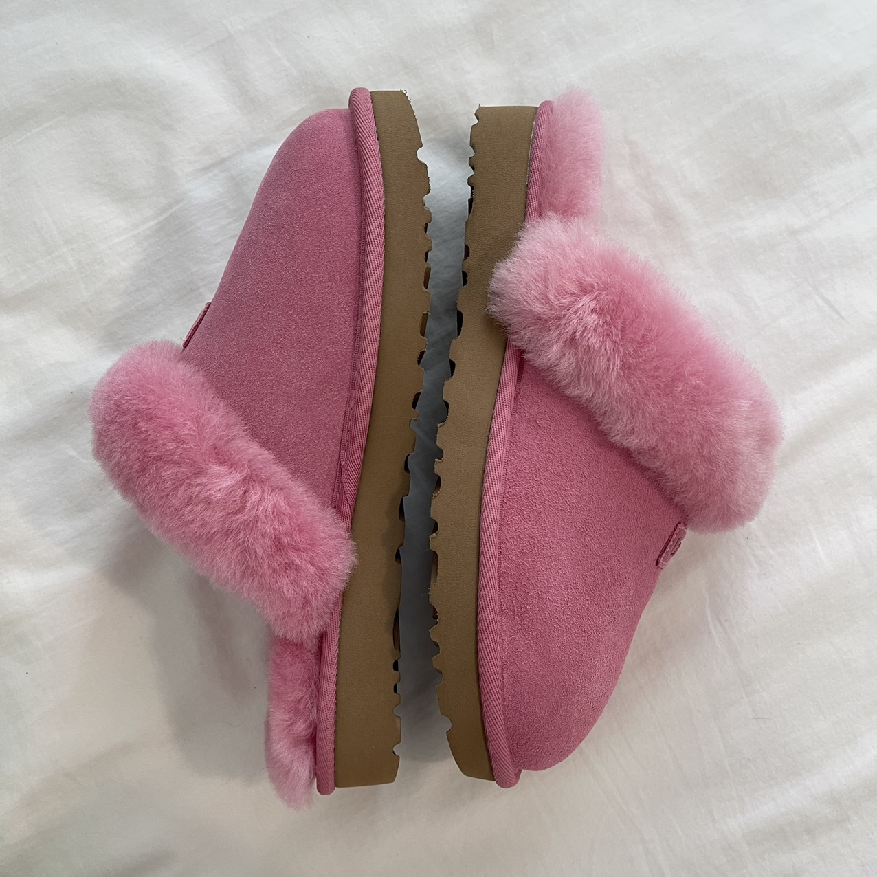 Product Image 1 - UGG pink slippers 💖 They're