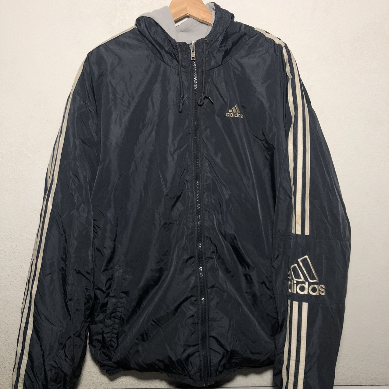 Product Image 1 - Vintage Adidas heavy jacket Condition: Preowned Dm