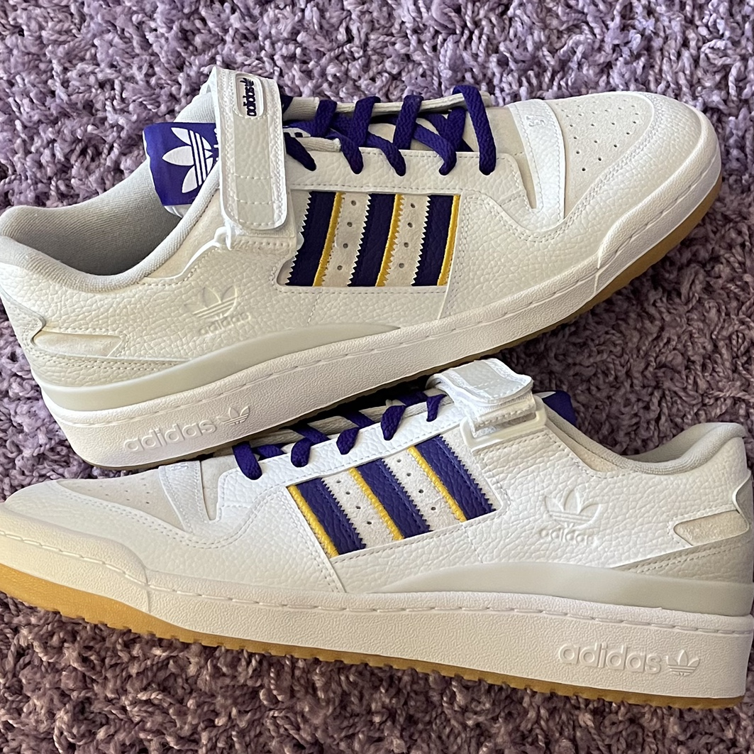 Product Image 1 - Adidas Forum Low 84 Lakers.