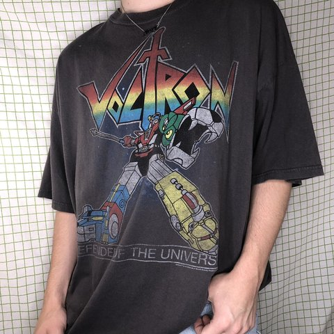 f6e291e7c Urbanspoon. Vine 80s Voltron Graphic Tee Washed Grey Color Super A Depop ...