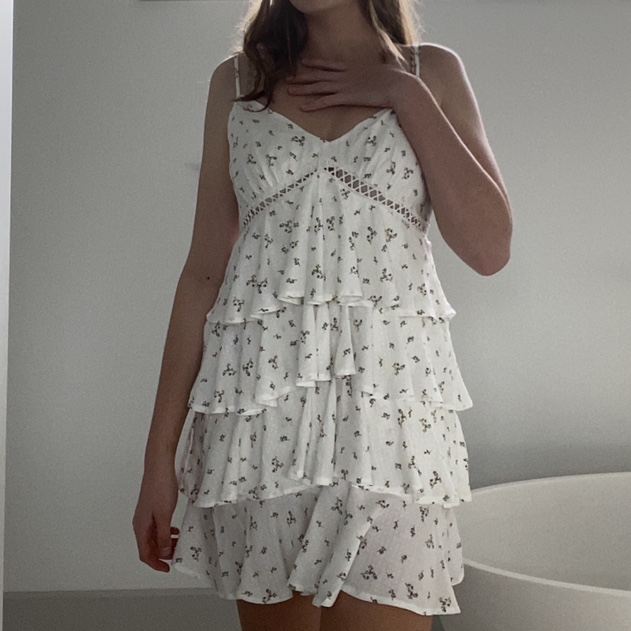 Product Image 1 - THE MOST GORGEOUS FLORAL DRESS!