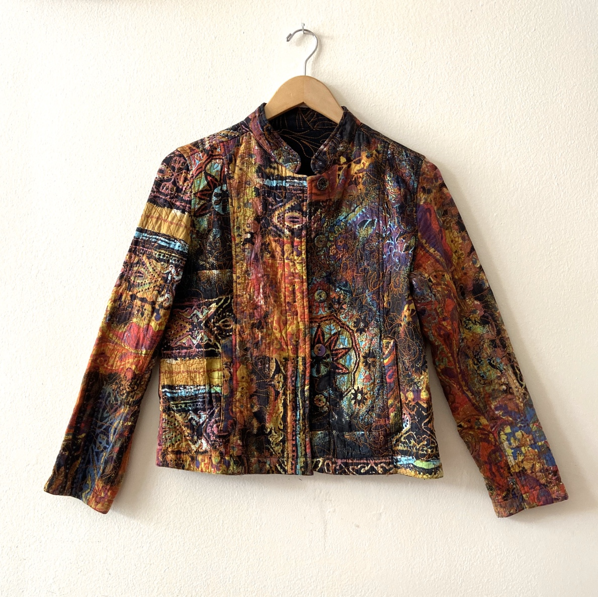 Product Image 1 - Incredible reversible quilted jacket with