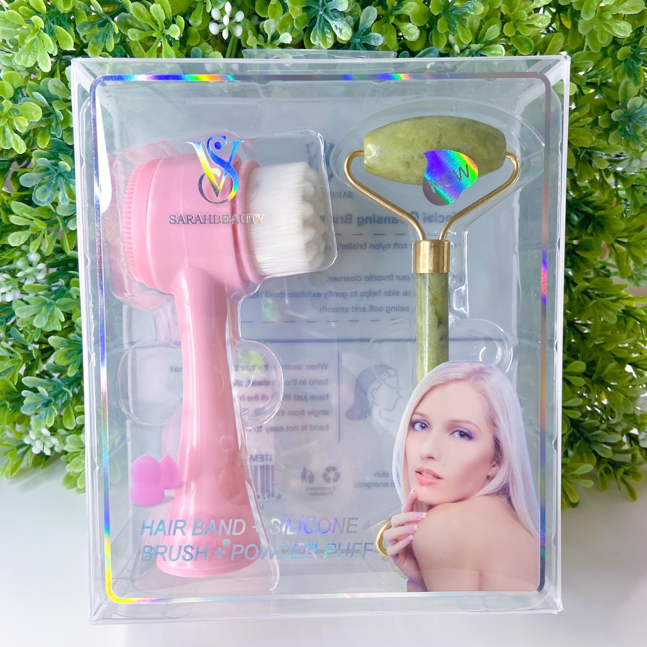 Product Image 1 - Facial cleansing brush and jade