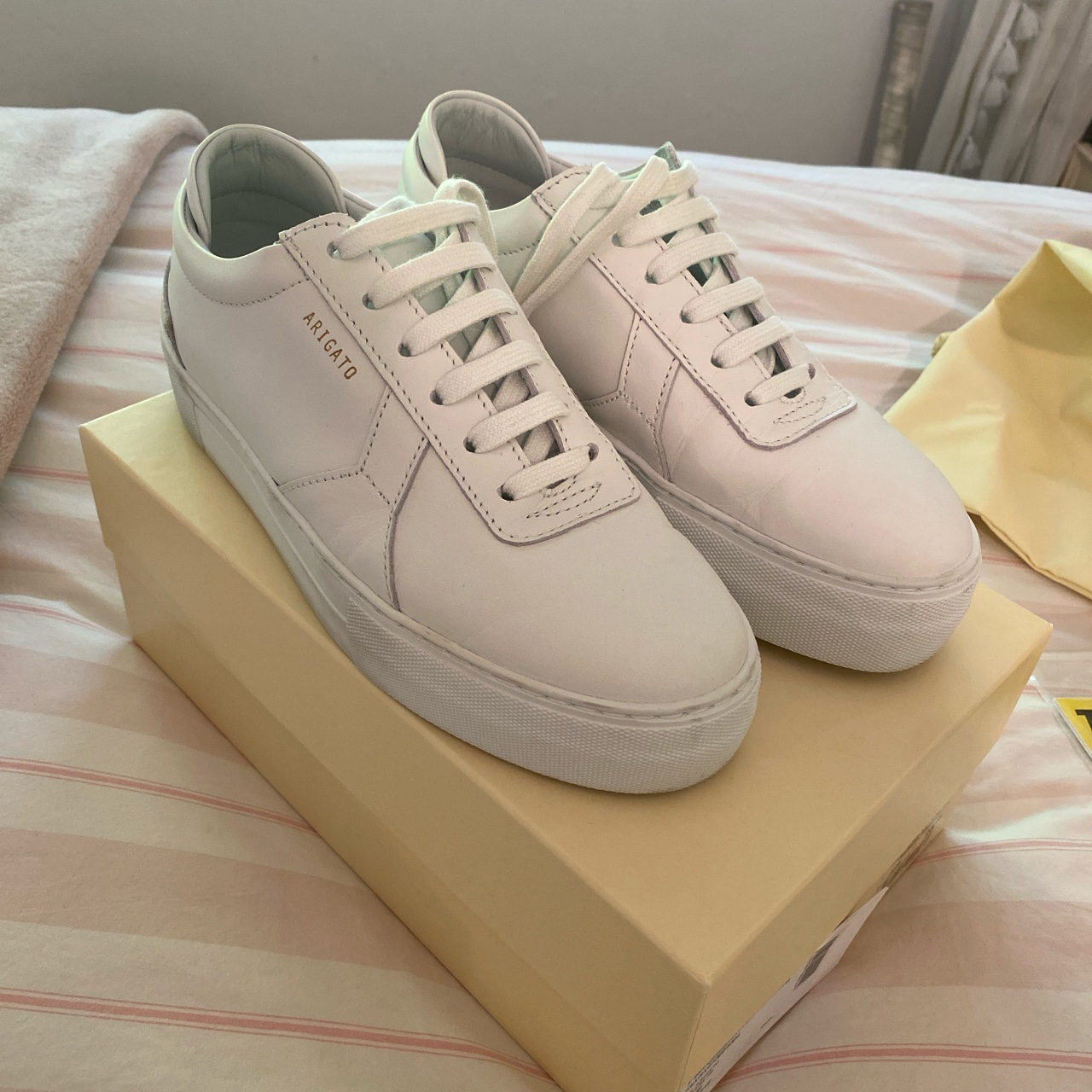Product Image 1 - AXEL ARIGATO 30MM PLATFORM LEATHER SNEAKERS  Super