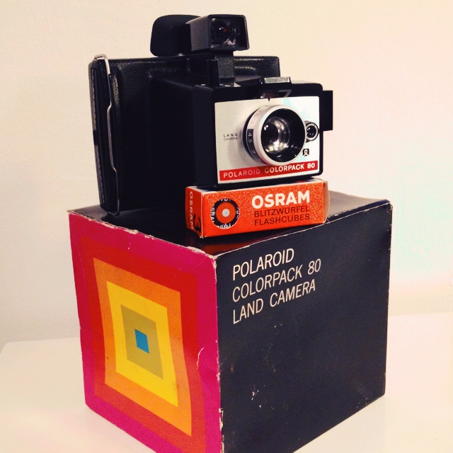 polaroid colorpack 80 land camera in loco loft concept depop. Black Bedroom Furniture Sets. Home Design Ideas