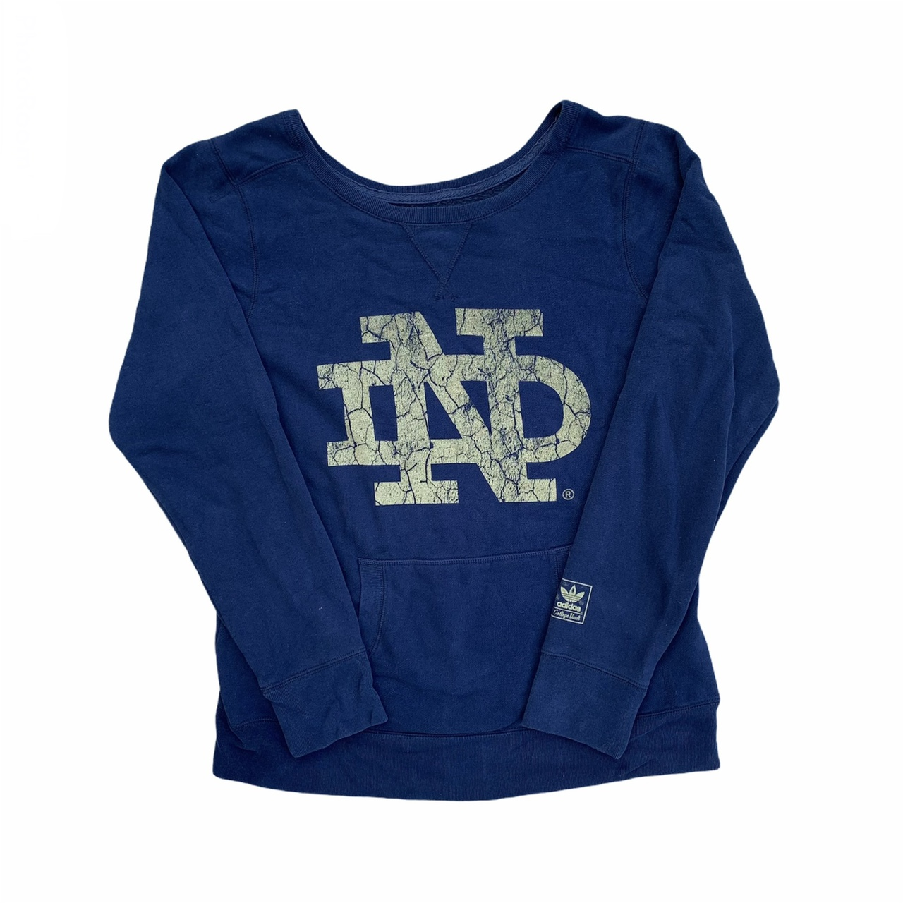 Product Image 1 - Adidas Notre Dame college navy