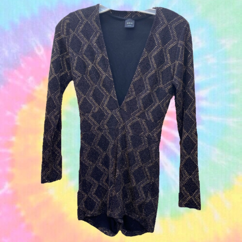 Product Image 1 - Groovy golden sparkly bodysuit ✨