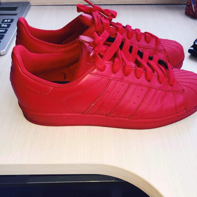 sports shoes 0d69f fcc2b adidas rosse nuove