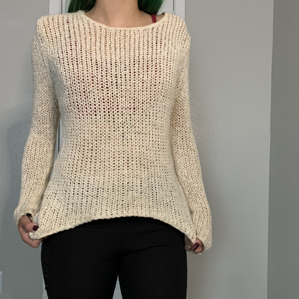 Product Image 1 - Cream colored cover up top This