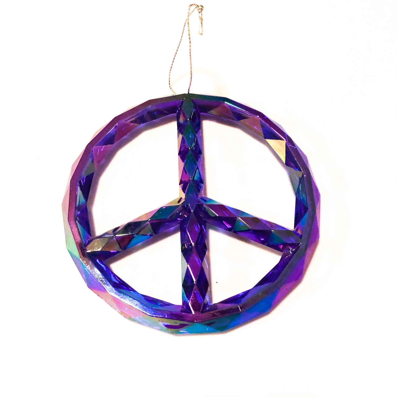 Product Image 1 - Giant neon purple peace sign