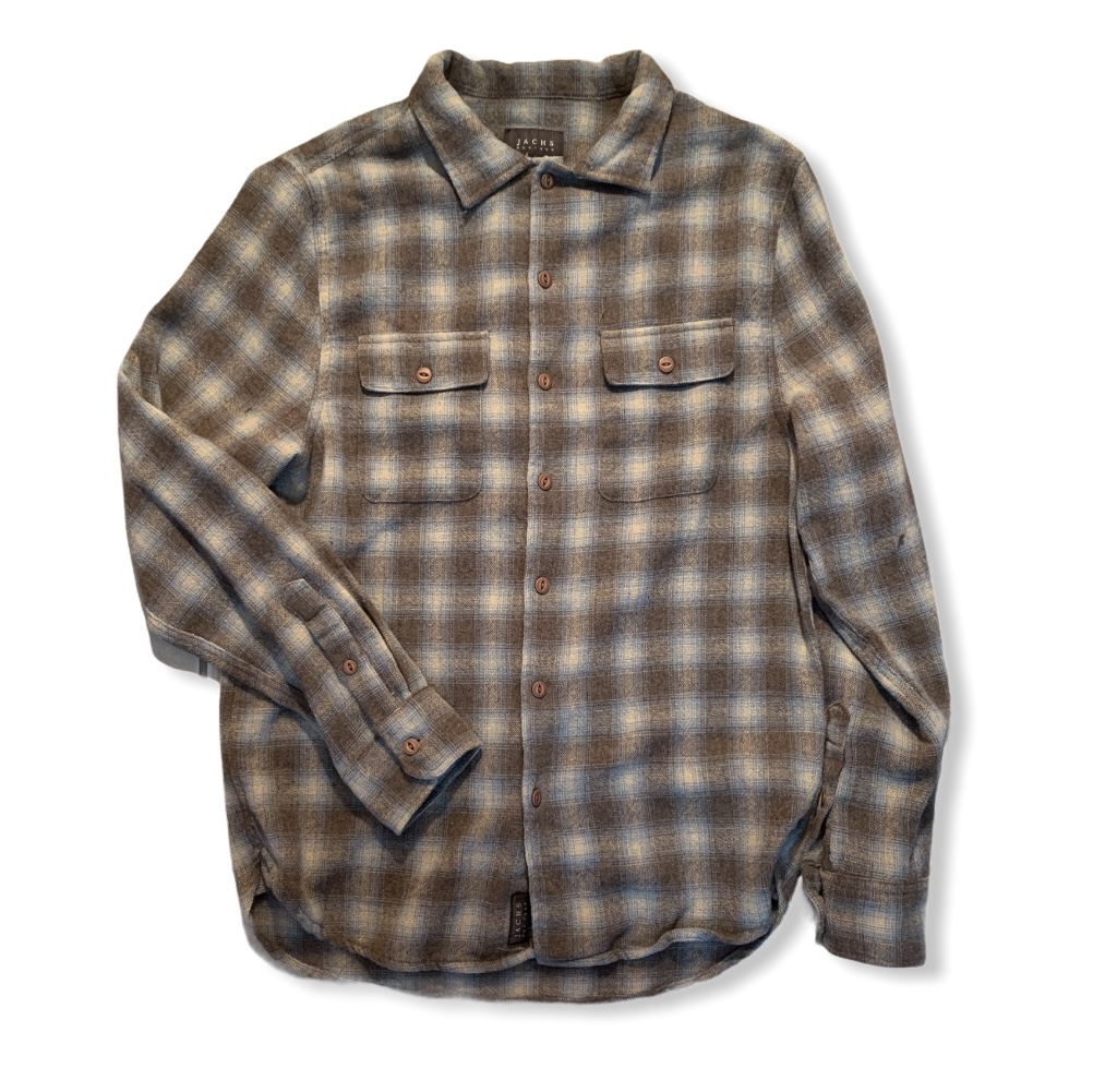 Product Image 1 - JACHS NEW YORK FLANNEL MENS SMALL NO