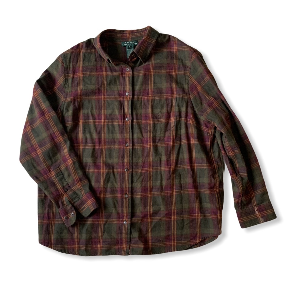 Product Image 1 - RALPH LAUREN FLANNEL SMALL STAIN ON