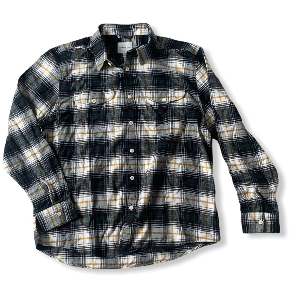 Product Image 1 - AMERICAN EAGLE FLANNEL MENS XL NO FLAWS
