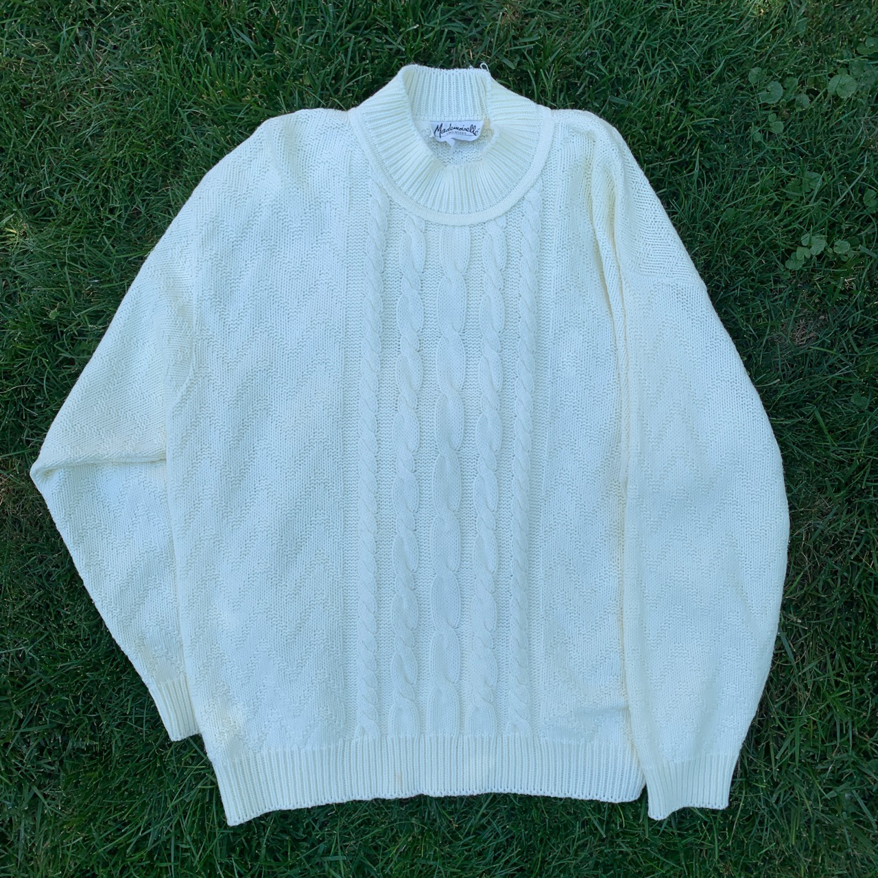 Product Image 1 - Vintage 90s Oversized Cable Knit  •