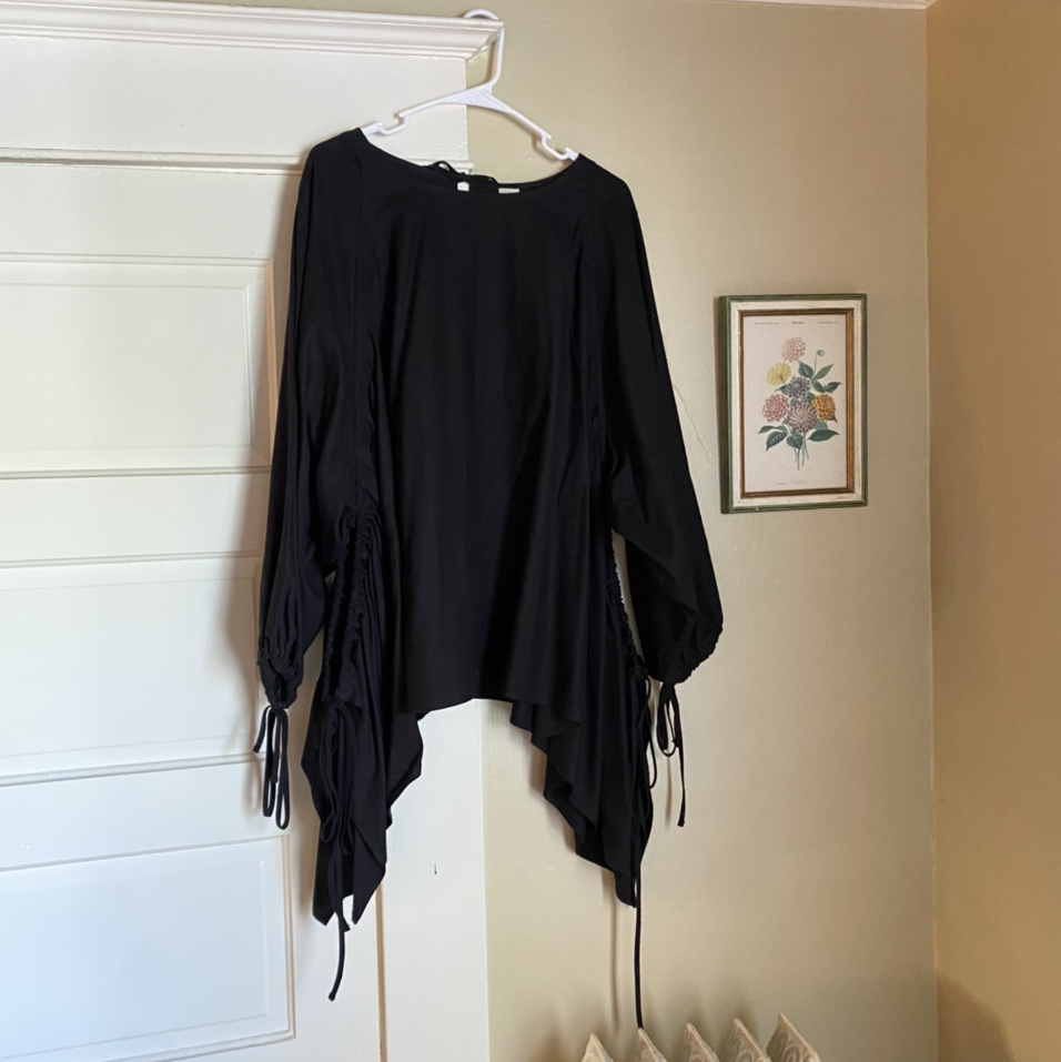 Product Image 1 - 🥀 Gothic Raw Silk Blouse